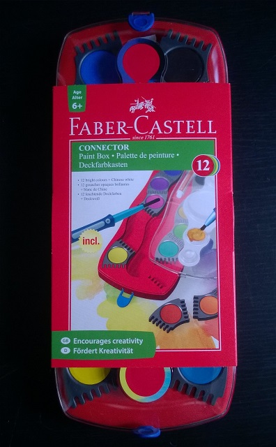 Faber-Castell paints
