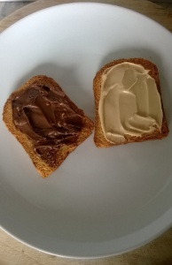 Tesco sweet spreads on french toast