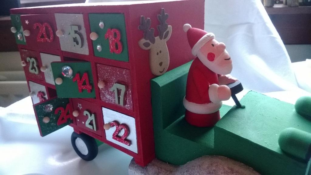 Hobbycraft advent truck