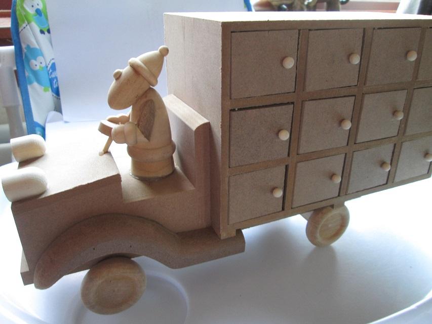 Hobbycraft advent truck naked