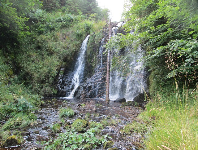 Craik waterfall