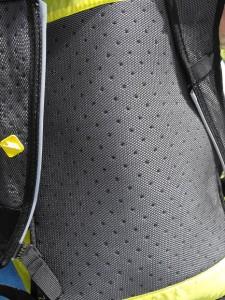 Ultra rucksack back