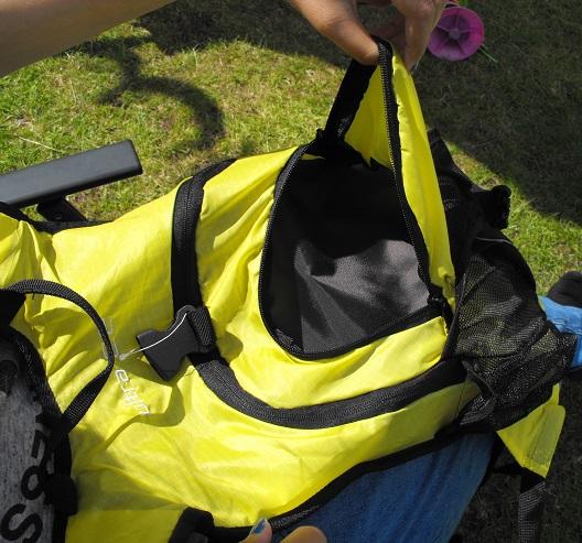 Ultra rucksack pocket 2