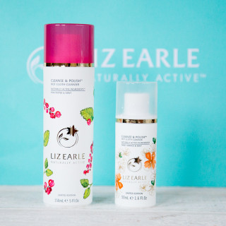 Pink pepper & mint and Sweet Orange and mint are the seasonal limited edition Liz Earle Cleanse & Polish for winter 2015