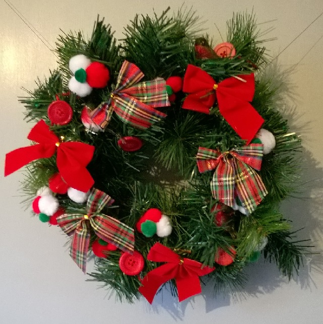 02. Traditional wreath finished
