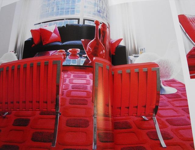 Ludwig Mies van der Rohe's Barcelona chairs.