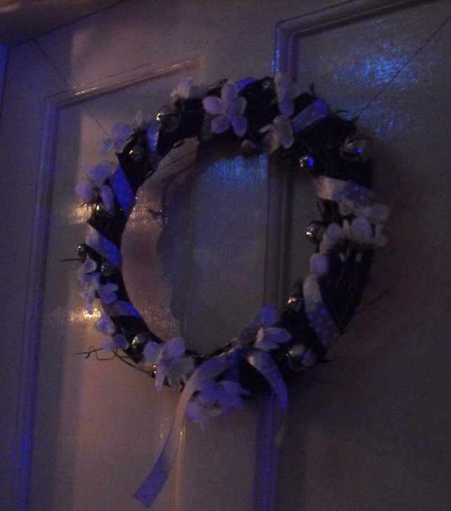 10. Twiggy wreath bells stuck on finished