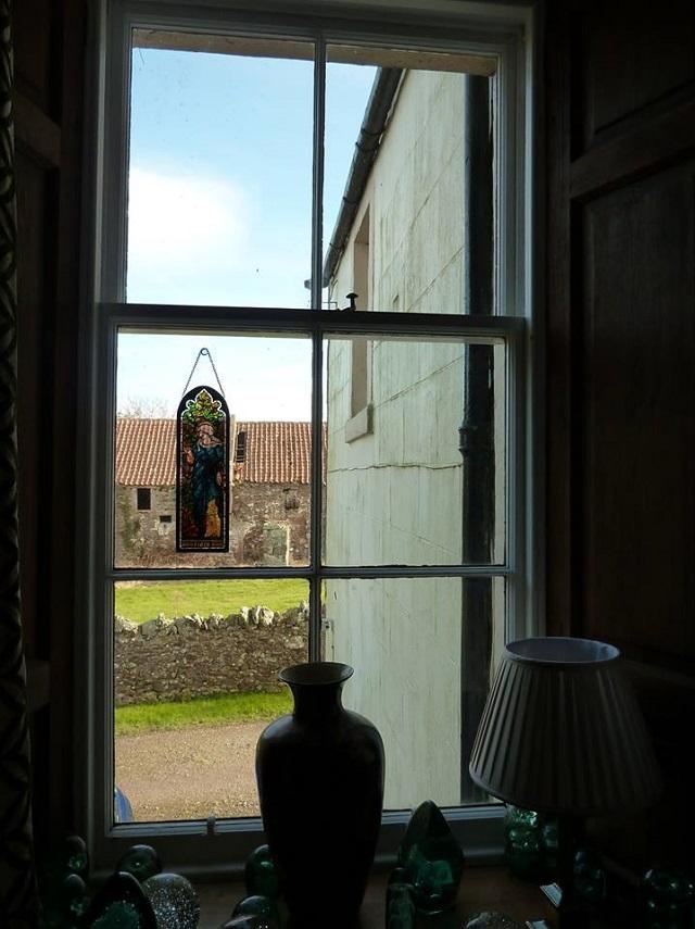 11 wooden window