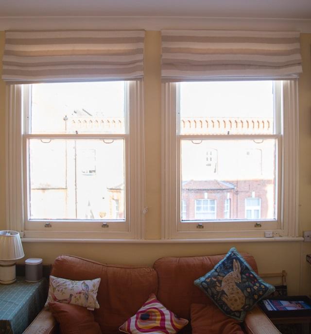 14 wooden windows Sitting room windows