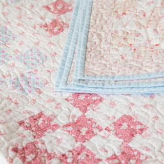 The simple secret behind making a patchwork quilt