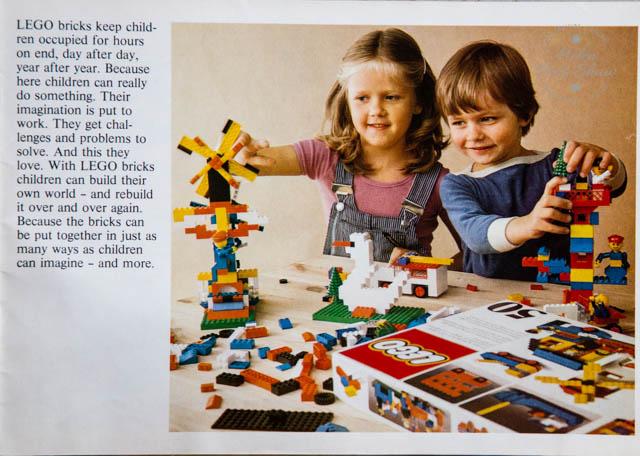 The 1980 LEGO catalogue. Featuring Duplo, Fabuland, Lego City, Lego Castle, Lego Space, Technical Lego, Lego Train and more.