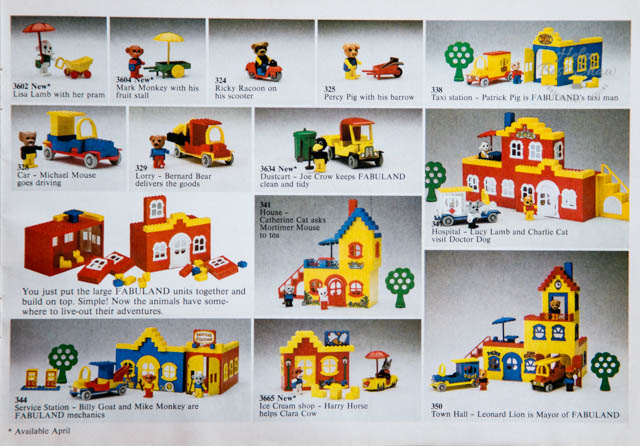 The 1980 LEGO Catalogue - A meander down memory lane - Home Style Create