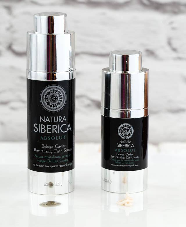 Natura Siberica Royal Caviar Eye Cream & Serum