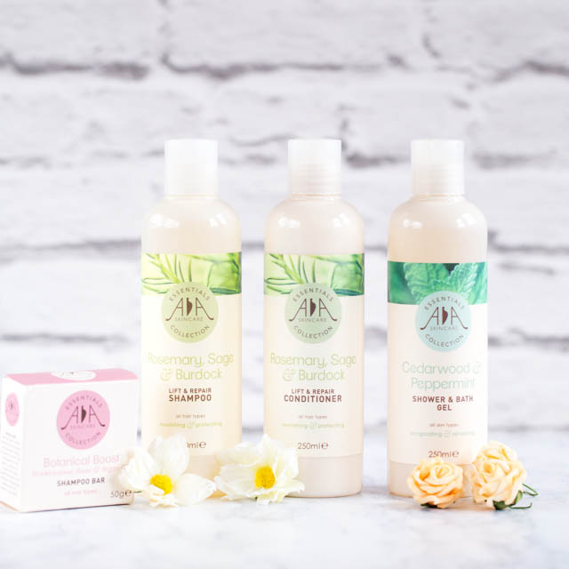 AA Skincare - shampoos and conditioners
