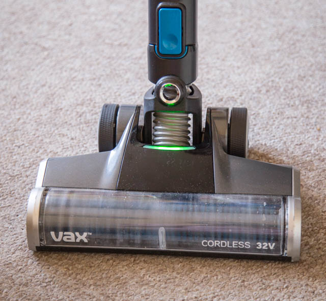 The Vax Blade cordless vacuum cleaner - brush head